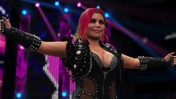 Кровь и обилие глубоких вырезов в WWE 2K16