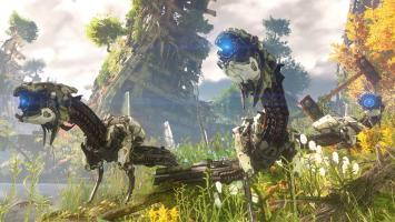 В Horizon: Zero Dawn можно будет долгими часами исследовать игровой мир