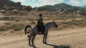 Лошадиная броня в Metal Gear Solid 5: The Phantom Pain