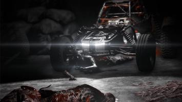 Реклама багги в пародийном трейлере дополнения Dying Light: The Following