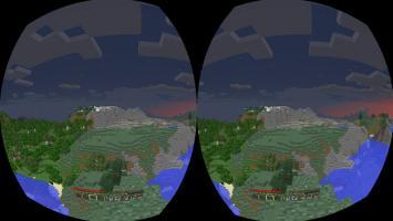 Minecraft уверенно движется к виртуальной реальности