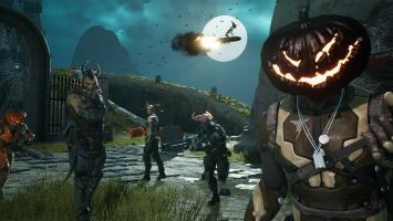 Хэллоуин уже начался в пре-альфе Unreal Tournament и принес в игру праздничные шапки