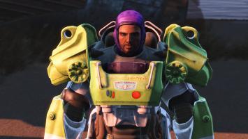 Путешествуйте с Баззом Лайтером в Fallout 4