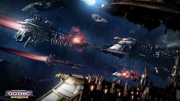 Трейлер кораблей человеческого Империума в Battlefleet Gothic: Armada