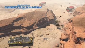 Состоялся официальный анонс Homeworld: Deserts of Kharak, бывшей Homeworld: Shipbreakers
