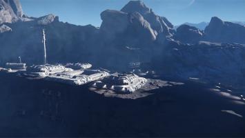 Процедурная генерация планет во впечатляющем видео Star Citizen