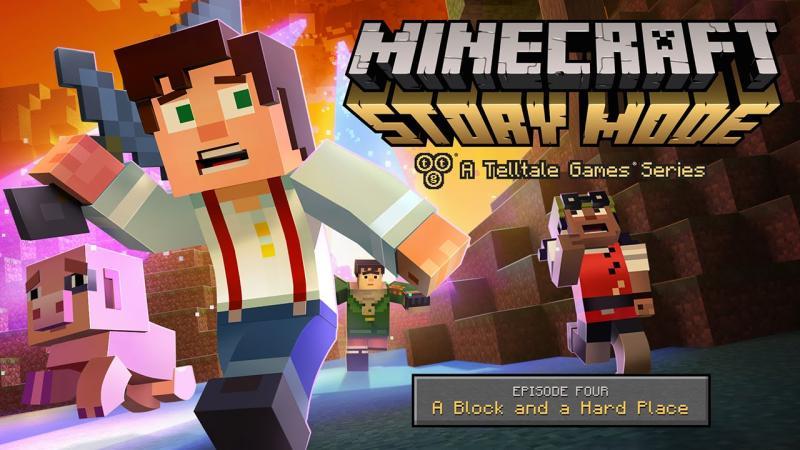 Сюжетный трейлер четвертого эпизода Minecraft: Story Mode