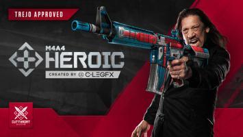 Дэнни Трехо хочет, чтобы вы проголосовали за новые скины оружия в Counter-Strike: Global Offensive