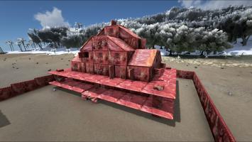 Постройте дом из мяса в ARK: Survival Evolved