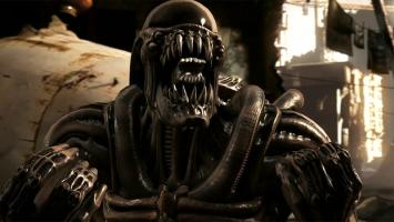 Геймплей Ксеноморфа, маньяка Кожаное лицо и других персонажей в ролике Mortal Kombat X
