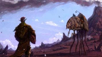 Ранняя демонстрация мультиплеера для Morrowind
