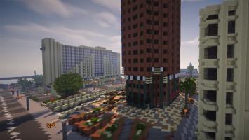 Вся карта GTA 5 целиком воссоздается в Minecraft