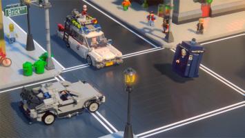 Доктор Венкман, Доктор Кто и док Браун встретились в ролике LEGO Dimensions