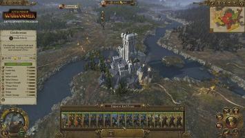 Кампания за Империю людей в геймплейном ролике Total War: Warhammer