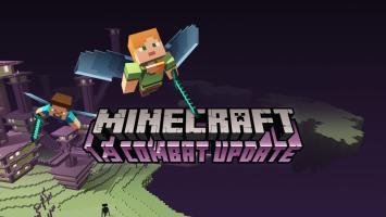 С новым апдейтом существенно обновилась боевая система Minecraft