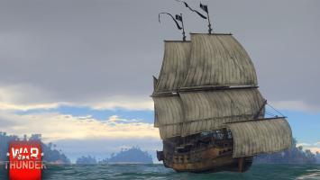В War Thunder появились первые парусные корабли