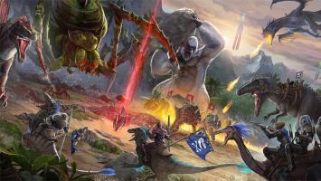 На PS4 в июле выйдет ARK: Survival of the Fittest