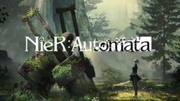 Заброшенное окружение на скриншотах NieR: Automata