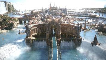 Живописное игровое окружение в ролике Final Fantasy 15