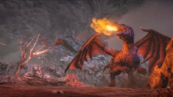 В ARK: Survival Evolved появился огнедышащий дракон-босс