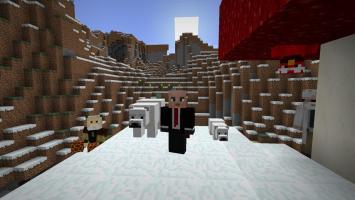 Новый полярный и пустынный контент в обновлении Minecraft 1.10