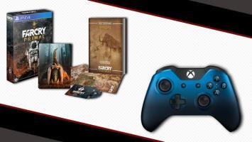 Пополнение каталога призов PlayGround.ru: коллекционное издание Far Cry: Primal для PS4 и геймпад Xbox One Dusk Shadow