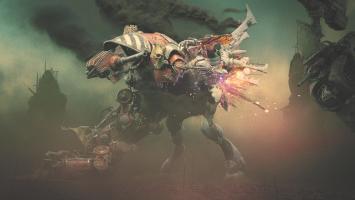 Дебютный геймплей Dawn of War 3 с выставки E3