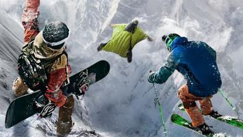 Ubisoft анонсировала соревновательную спортивную игру Steep в открытом мире