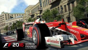 Дебютный геймплей F1 2016