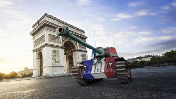 44 французских танка в World of Tanks на PlayStation 4