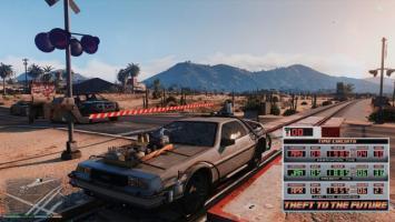 Вернитесь назад в будущее в Grand Theft Auto 5