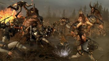 """Первым загружаемым DLC для Total War: Warhammer станет """"Зов зверолюдов"""""""