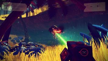 Космические и планетарные битвы в трейлере No Man's Sky
