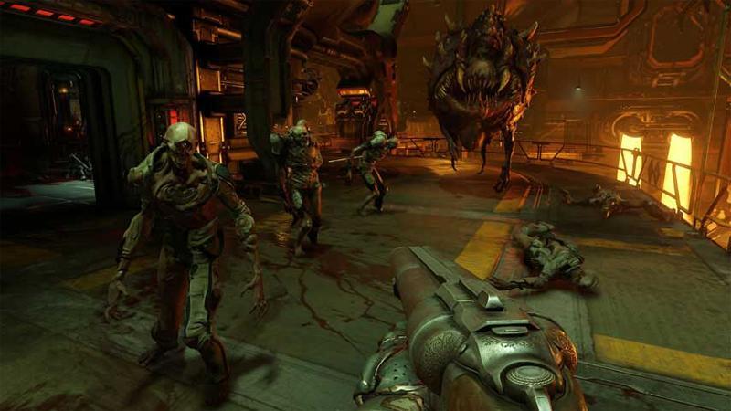 Вам не понадобится приобретать дополнение к Doom, чтобы сыграть на новых картах