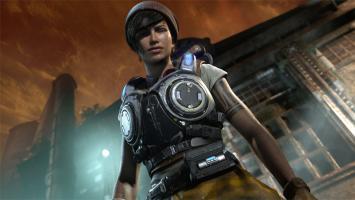 Геймплей на мультиплеерной карте Impact для Gears of War 4