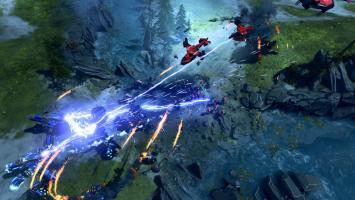 Мультиплеерный режим Strongholds в геймплейном ролике Halo Wars 2