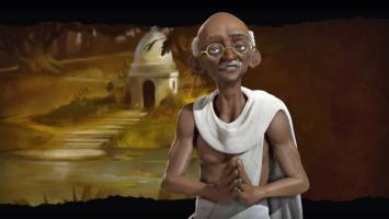 Духовный лидер Индии в трейлере Sid Meier's Civilization 6