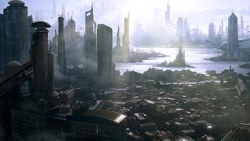 В файлах Star Citizen обнаружилась модель огромного научно-фантастического города
