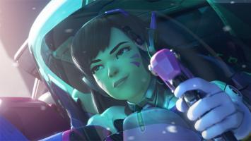 Героиня D.Va из Overwatch появится в StarCraft 2