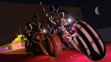 Очередной апдейт для GTA Online представил мотоциклы и режим в стиле фильмов TRON