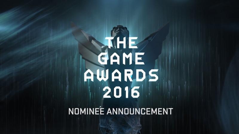 Объявлены номинанты на The Game Awards 2016