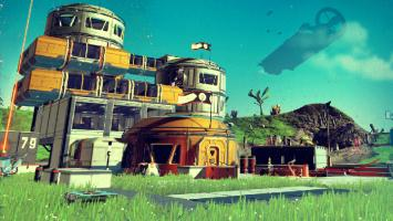 No Man's Sky обновилась до версии 1.1 и представила строительство баз