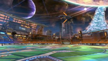 Трейлер арены Starbase Arc для Rocket League с The Game Awards 2016