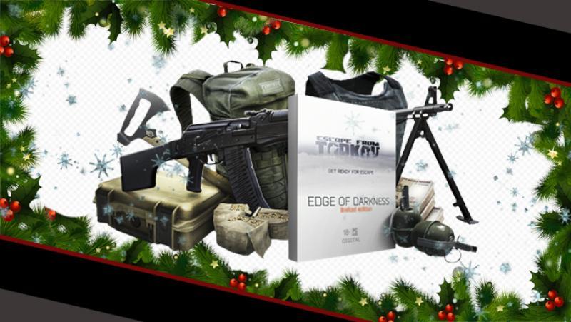 Каталог призов PlayGround.ru пополнился ограниченным изданием Escape from Tarkov: Edge of Darkness