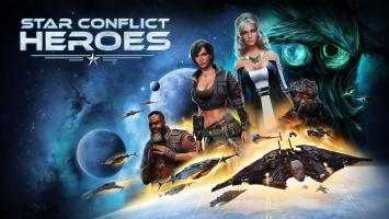 Космический экшен Star Conflict от разработчиков War Thunder долетел до iOS