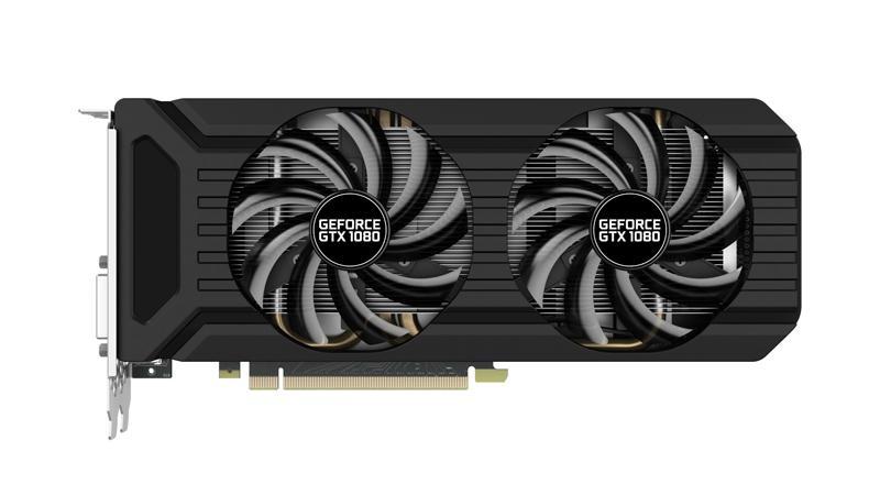 Palit представила видеокарту GeForce GTX 1080 Dual OC