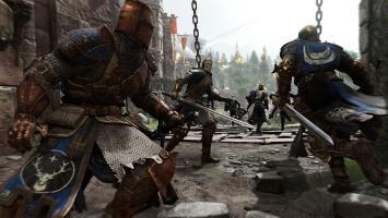 Механика For Honor позволяет успешно сражаться сразу против нескольких противников