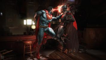 Бэтмен против Супермена в новом трейлере Injustice 2