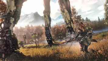 Первые 40 минут геймплея Horizon: Zero Dawn на PS4 Pro