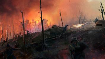 """Геймплей на новых картах из дополнения """"Они не пройдут"""" для Battlefield 1"""